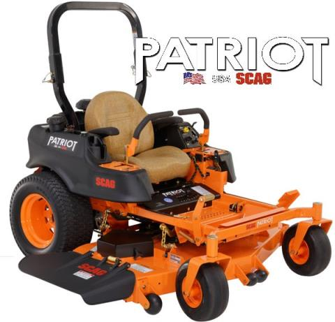 2017 SCAG Power Equipment Patriot (SPZ52-22FX) in Beaver Dam, Wisconsin