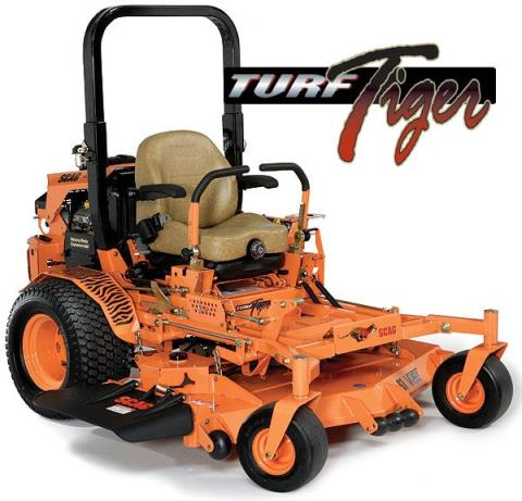 2017 SCAG Power Equipment Turf Tiger (*STT72V-26CH-EFI) in New Braunfels, Texas