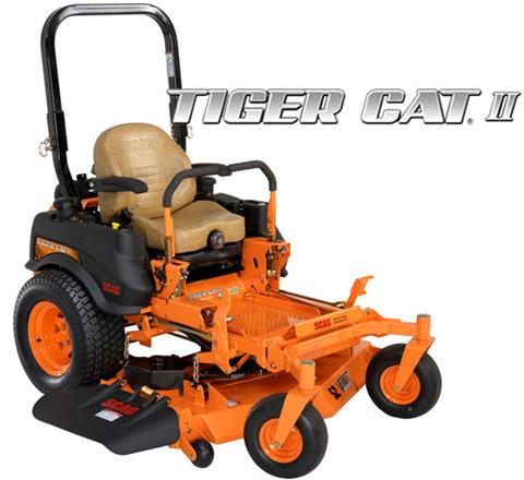 2017 SCAG Power Equipment Tiger Cat II (STCII-48V-22FX) in Francis Creek, Wisconsin