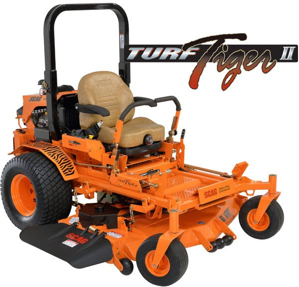 2017 SCAG Power Equipment Turf Tiger II (STTII-72V-25KBD) in Red Wing, Minnesota