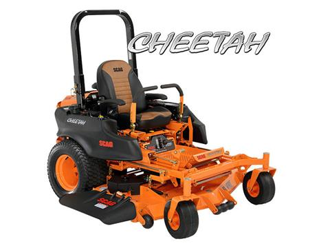 2019 SCAG Power Equipment Cheetah 61 in. 31 hp Kawasaki Zero Turn Mower in Francis Creek, Wisconsin