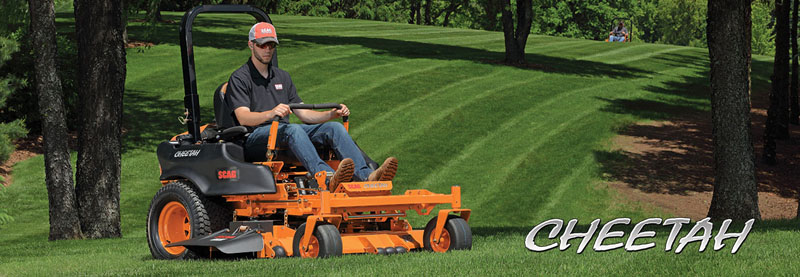 2019 SCAG Power Equipment Cheetah 61 in. 31 hp Kawasaki Zero Turn Mower in Chillicothe, Missouri - Photo 2