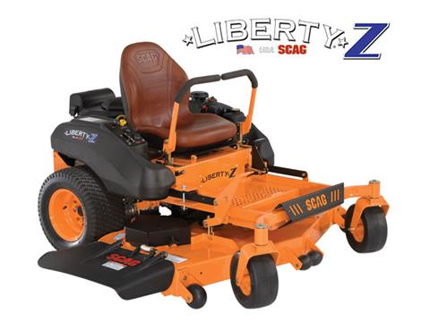 2019 SCAG Power Equipment Liberty Z 52 in. 23 hp Kawasaki Zero Turn Mower in Francis Creek, Wisconsin