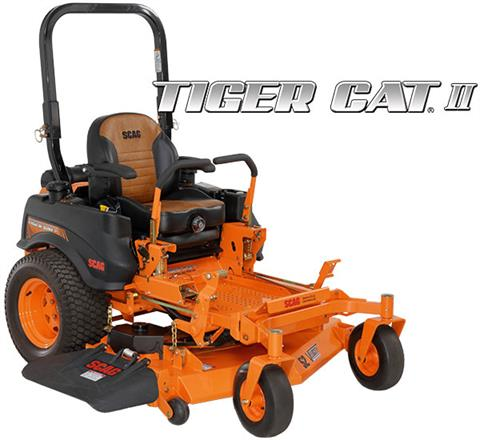 2019 SCAG Power Equipment Tiger Cat II STCII-61V-23FX in Francis Creek, Wisconsin