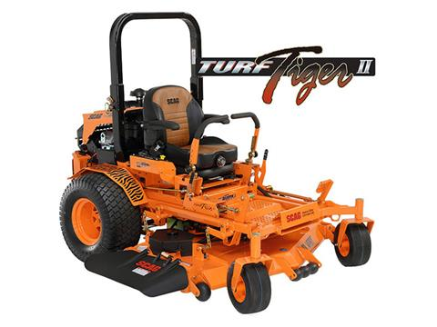 2019 SCAG Power Equipment Turf Tiger II 52 in. 26 hp Kohler EFI Zero Turn Mower in Chillicothe, Missouri