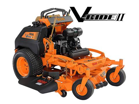 2019 SCAG Power Equipment V-Ride II 52 in. 25 hp Kohler EFI Zero Turn Mower in Francis Creek, Wisconsin