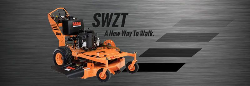 2019 SCAG Power Equipment SWZ Hydro-Drive Walk Behind Kawasaki 52 in. 18 hp in Charleston, Illinois
