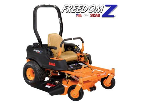 2019 SCAG Power Equipment Freedom Z 52 in. 24 hp Kohler Zero Turn Mower in Francis Creek, Wisconsin