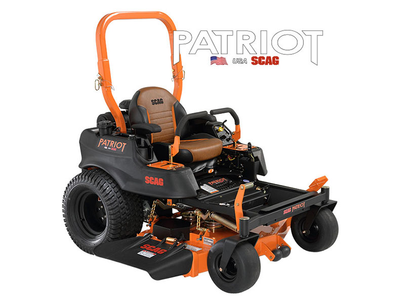 2019 SCAG Power Equipment Patriot Zero-Turn Kawasaki 52 in. 22 hp in Chillicothe, Missouri - Photo 1