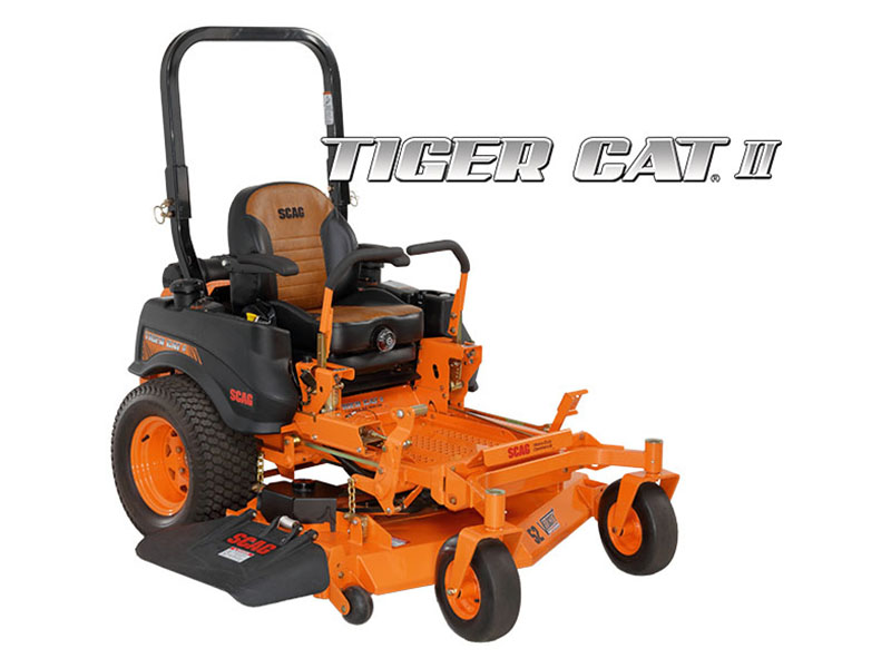 2019 SCAG Power Equipment Tiger Cat II 61 in. 29 hp Kohler EFI Zero Turn Mower in South Hutchinson, Kansas - Photo 1