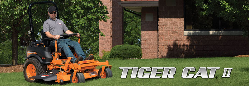 2019 SCAG Power Equipment Tiger Cat II 61 in. 26 hp Kawasaki Zero Turn Mower in Glasgow, Kentucky - Photo 2