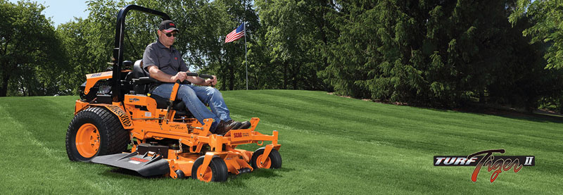 2019 SCAG Power Equipment Turf Tiger II Zero-Turn Kubota Diesel 61 in. 25 hp in Beaver Dam, Wisconsin - Photo 2