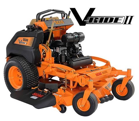 2019 SCAG Power Equipment V-Ride II 48 in. 22 hp Kawasaki Zero Turn Mower in Francis Creek, Wisconsin