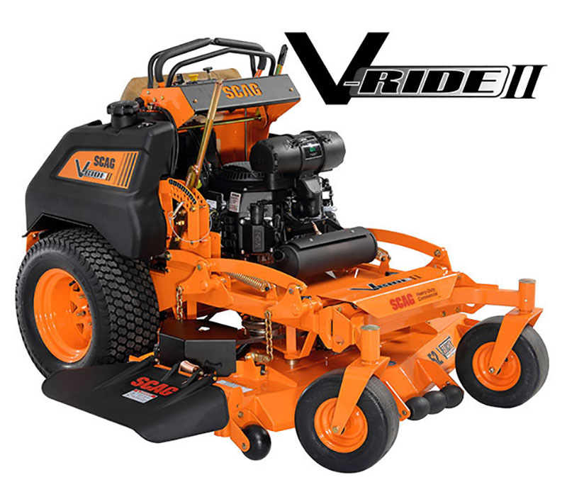 2019 SCAG Power Equipment V-Ride II (SVRII-52V-25CV-EFI) in Charleston, Illinois