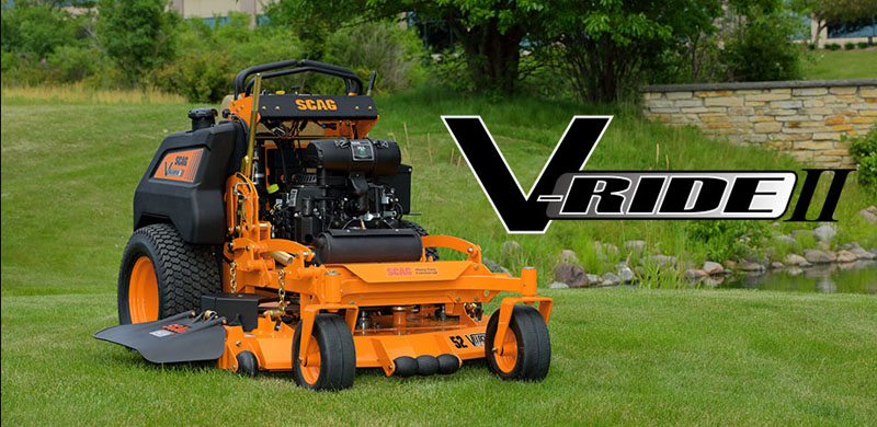 2019 SCAG Power Equipment V-Ride II (SVRII-61V-25FX) in Beaver Dam, Wisconsin