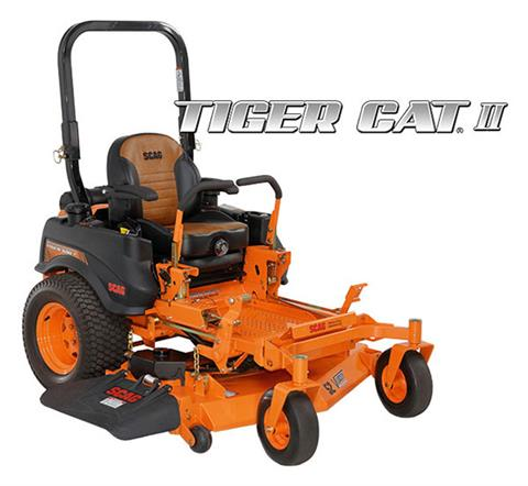 2020 SCAG Power Equipment Tiger Cat II 52 in. Kawasaki EFI 26 hp in Francis Creek, Wisconsin