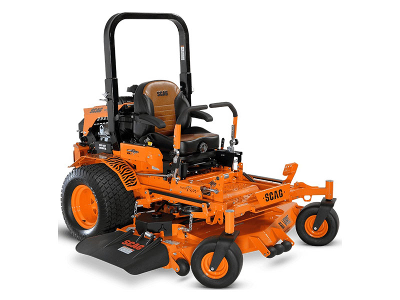 2021 SCAG Power Equipment Turf Tiger II 61 in. Briggs Vanguard EFI 37 hp in Rothschild, Wisconsin