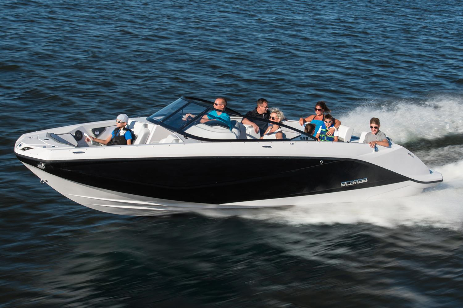 New 2018 Scarab 255 G Power Boats Inboard in Hutchinson, MN
