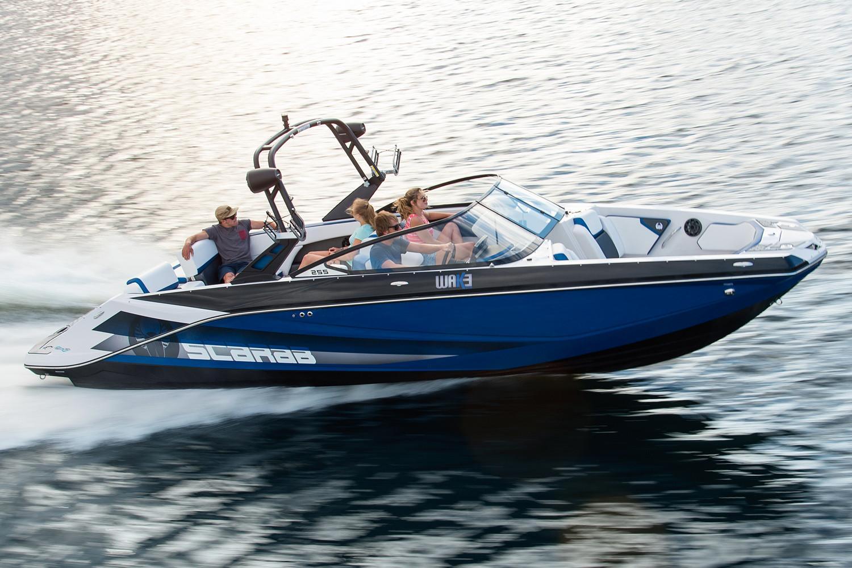 New 2018 Scarab 255 ID Power Boats Inboard in Hutchinson, MN