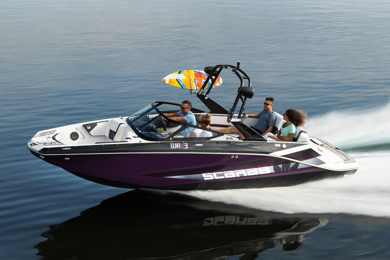 2021 Scarab 215 ID in Clearwater, Florida - Photo 1