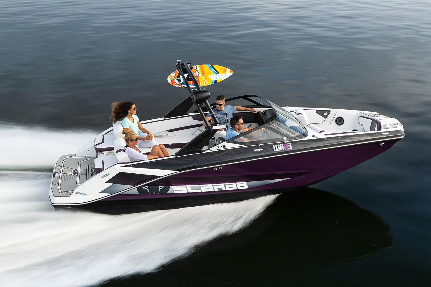 2021 Scarab 215 ID in Clearwater, Florida - Photo 3