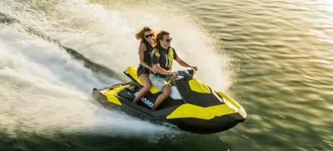 2016 Sea-Doo Spark 3up 900 H.O. ACE w/ iBR & Convenience Package Plus in Salt Lake City, Utah