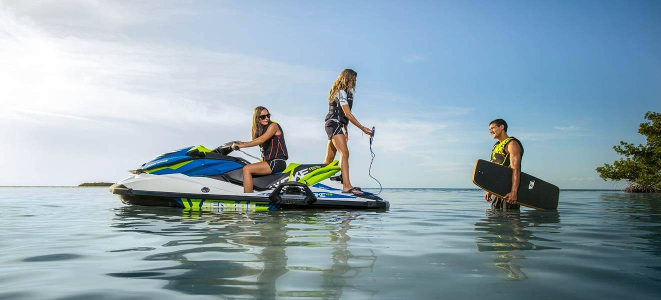 2016 Sea-Doo WAKE 155 in Brookfield, Wisconsin
