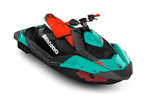 2017 Sea-Doo Spark 2up Trixx iBR in Victorville, California