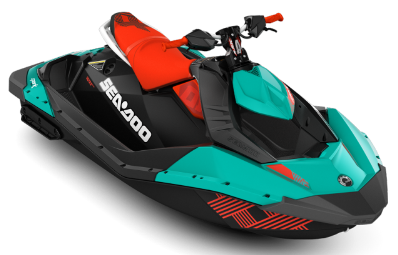 2017 Sea-Doo Spark 2up Trixx iBR in Presque Isle, Maine