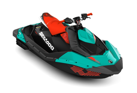 2017 Sea-Doo Spark 2up Trixx iBR in Danbury, Connecticut
