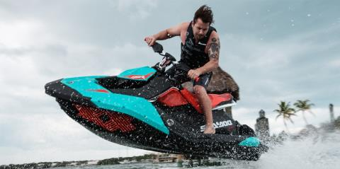 2017 Sea-Doo Spark 2up Trixx iBR in Saucier, Mississippi