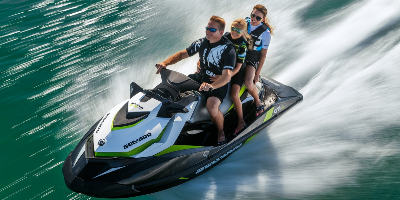 2017 Sea-Doo GTI SE 130 in Panama City, Florida
