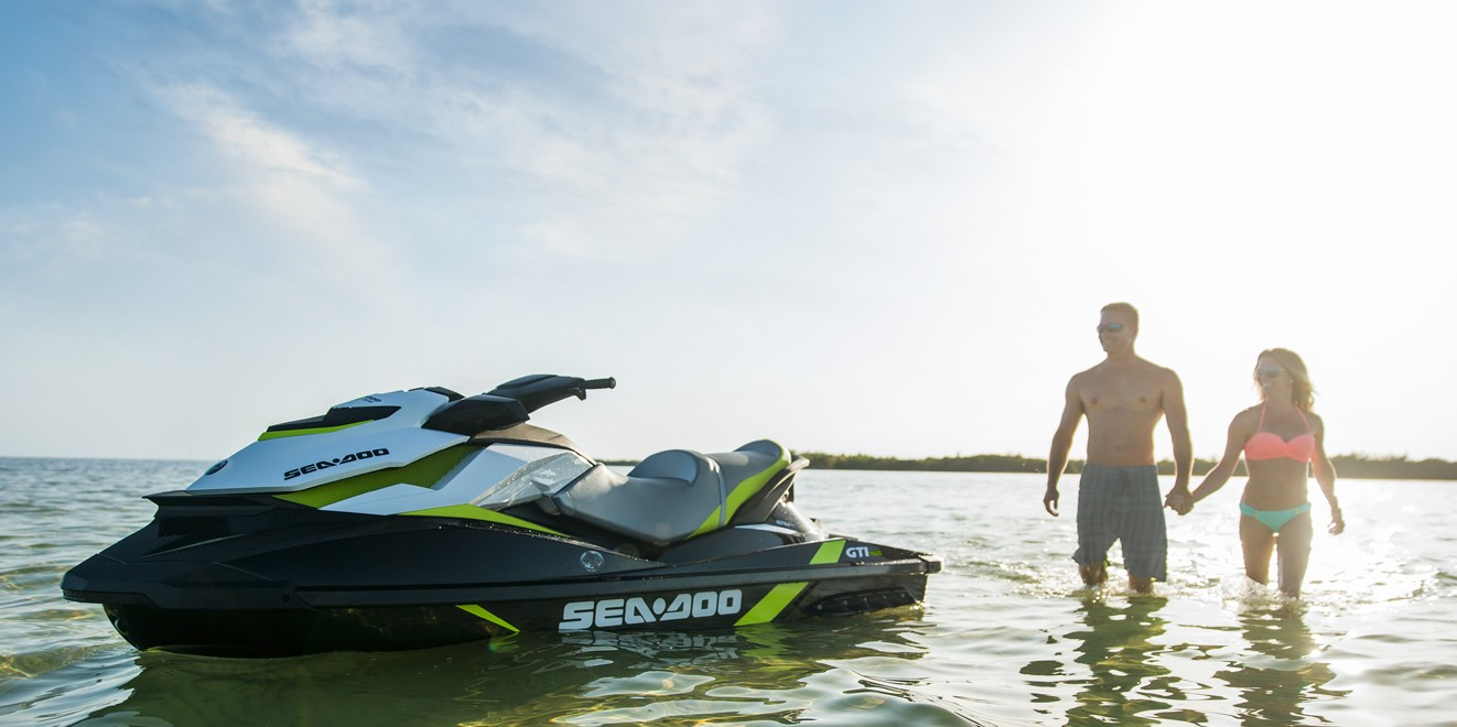 2017 Sea-Doo GTI SE 155 in Roscoe, Illinois