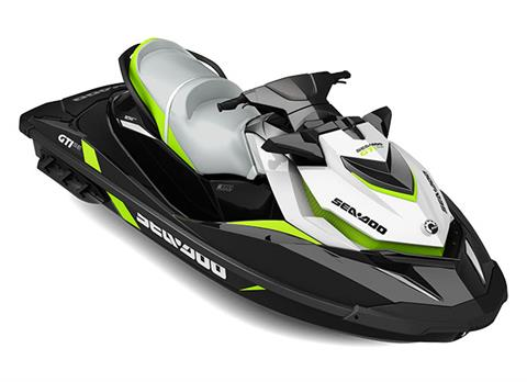 2017 Sea-Doo GTI SE 155 in Edgerton, Wisconsin