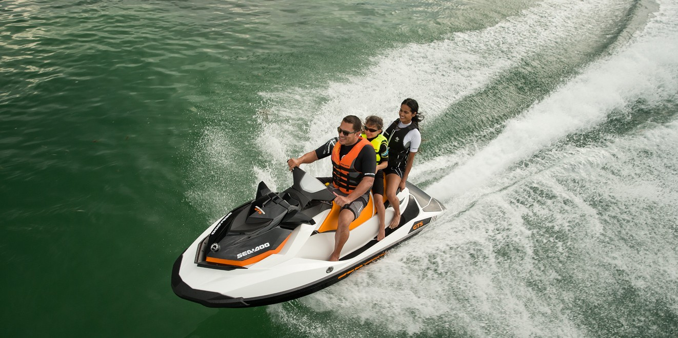 2017 Sea-Doo GTS in Lancaster, New Hampshire