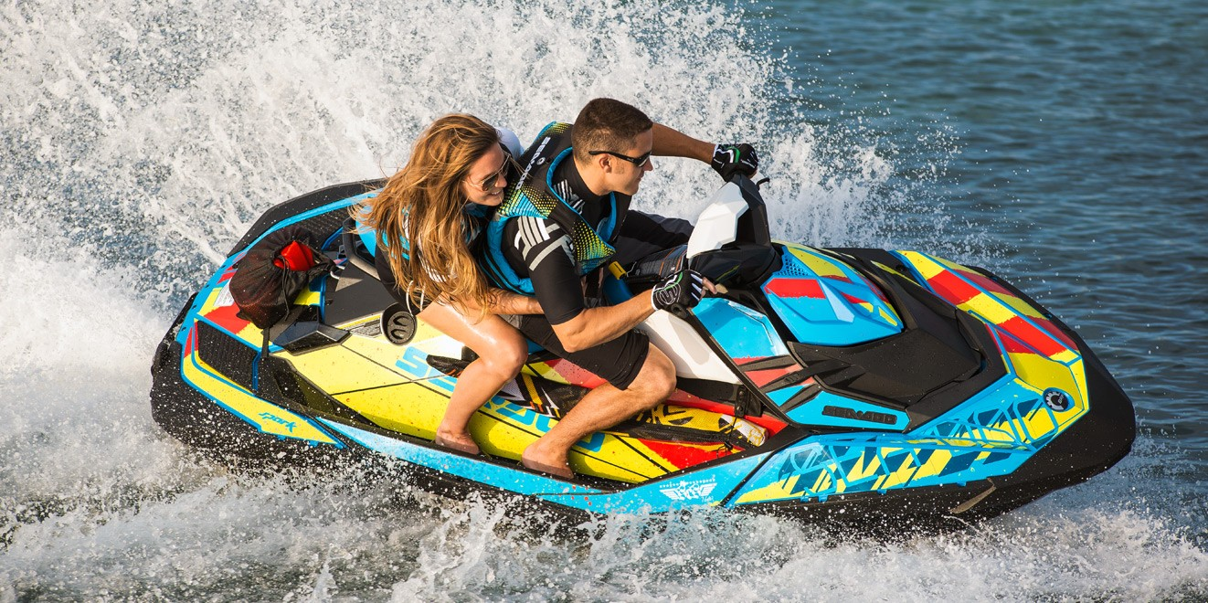 2017 Sea-Doo SPARK 3up 900 H.O. ACE iBR & Convenience Package Plus in Adams, Massachusetts