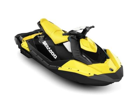 2017 Sea-Doo SPARK 3up 900 H.O. ACE iBR & Convenience Package Plus in Hudson, Wisconsin