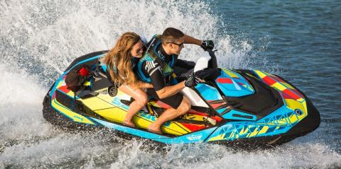 2017 Sea-Doo SPARK 3up 900 H.O. ACE iBR & Convenience Package Plus in Lumberton, North Carolina