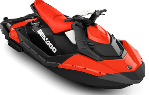 2017 Sea-Doo SPARK 3up 900 H.O. ACE iBR & Convenience Package Plus in Island Park, Idaho