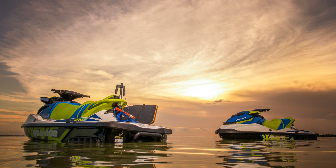 2017 Sea-Doo WAKE 155 in Danbury, Connecticut