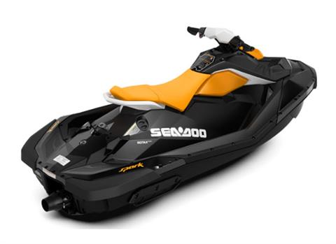 2018 Sea-Doo SPARK 2up 900 H.O. ACE iBR & Convenience Package Plus in Oakdale, New York