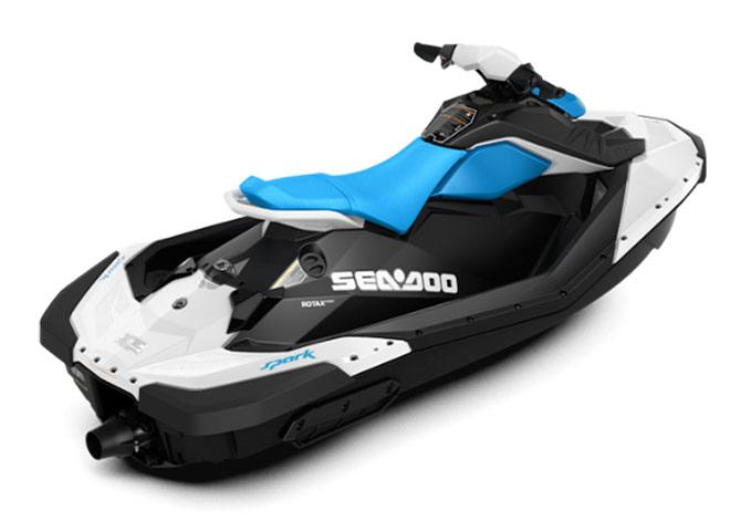 2018 Sea-Doo SPARK 2up 900 H.O. ACE iBR & Convenience Package Plus in Leesville, Louisiana
