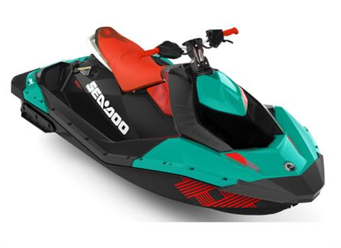 2018 Sea-Doo Spark 2up Trixx iBR in Presque Isle, Maine