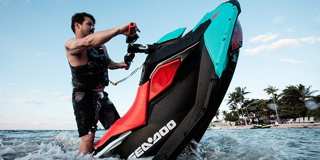 2018 Sea-Doo Spark 2up Trixx iBR in Brenham, Texas