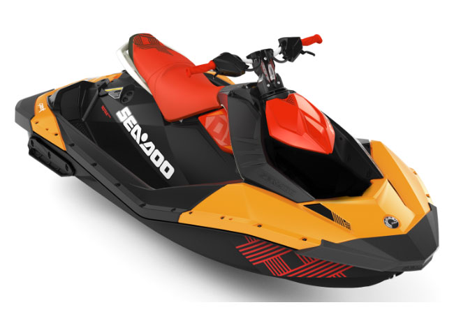 2018 Sea-Doo Spark 2up Trixx iBR in Danbury, Connecticut