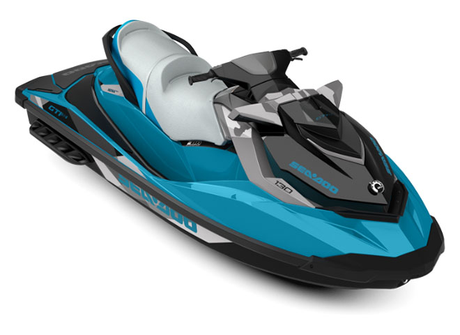 2018 Sea-Doo GTI SE 130 in Presque Isle, Maine