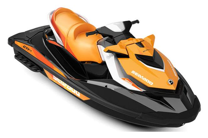 2018 Sea-Doo GTI SE 155 in Irvine, California