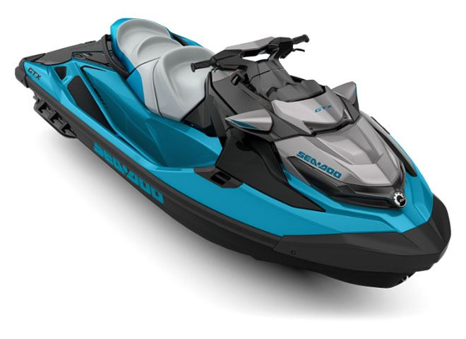 2018 Sea-Doo GTX 155 iBR in Roscoe, Illinois