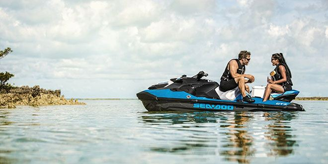 2018 Sea-Doo GTX 155 iBR in Pompano Beach, Florida