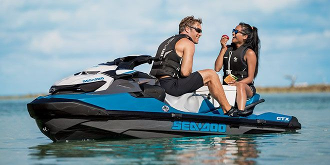 2018 Sea-Doo GTX 155 iBR in Huron, Ohio